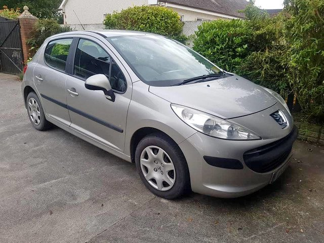07 PEUGEOT 207 1.4 PETROL..NCTD AND TAXD - 1/8