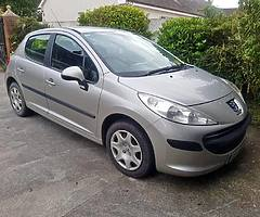 07 PEUGEOT 207 1.4 PETROL..NCTD AND TAXD - Image 1/8