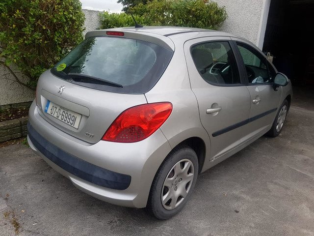 07 PEUGEOT 207 1.4 PETROL..NCTD AND TAXD - 3/8