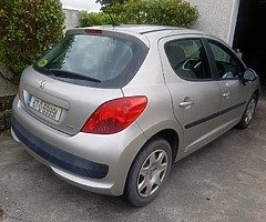 07 PEUGEOT 207 1.4 PETROL..NCTD AND TAXD - Image 3/8