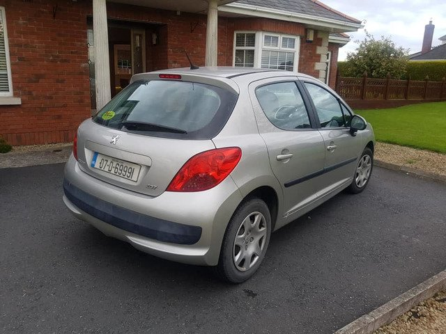 07 PEUGEOT 207 1.4 PETROL..NCTD AND TAXD - 5/8