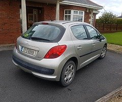 07 PEUGEOT 207 1.4 PETROL..NCTD AND TAXD - Image 5/8