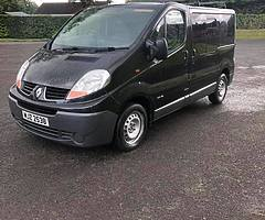2007 Traffic 2.0 psv sept good driver Trade in to clear