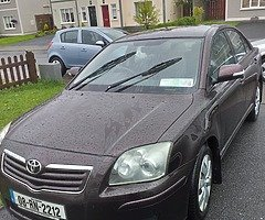 08 toyota avensis Tax till 3/20 nct 6/20