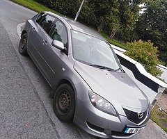 Mazda 3 I. 4 petrol nct fr 3 months tax for 2
