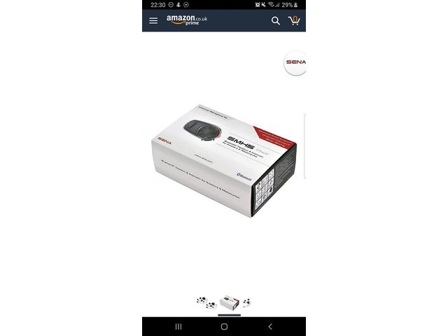 Sena SMH5 DUAL bluetooth intercom system new for sale - 5/5