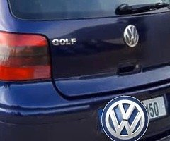 Volkswagen mk4 boot with spoiler and lips