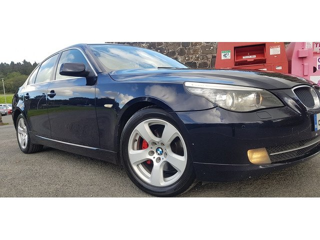 08 BMW 520d Bussines Package Low Tax - 1/9