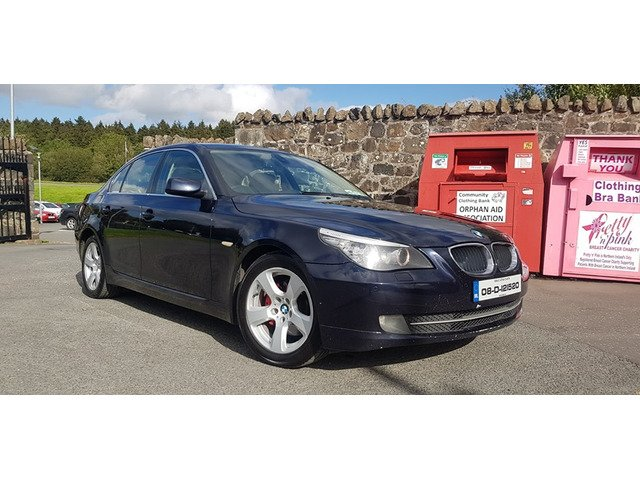 08 BMW 520d Bussines Package Low Tax - 9/9