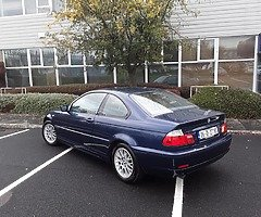 2005 BMW 318 CI COUPE // GREAT DRIVE AND LOTS OF HISTORY // SERIOUS INTEREST ONLY PLEASE
