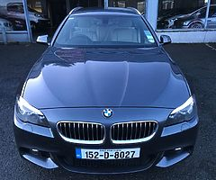 152 BMW 5 Series 2.0 Touring M-Sport Automatic , 76k Miles, 1 Owner, FSH, €20,950