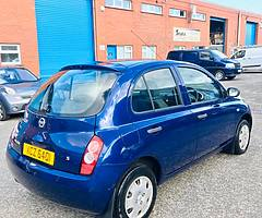 Nissan Micra 1.2 petrol AUTOMATIC