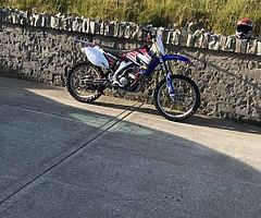 Two stroke dirt bike wanted , 125 or 250 , anything considered Suzuki Honda Kawasaki