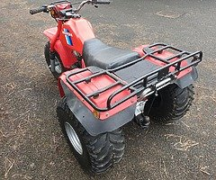 Honda atc 200es trike 1985 big red. Very good condition. Starting and running fine. Only thing that