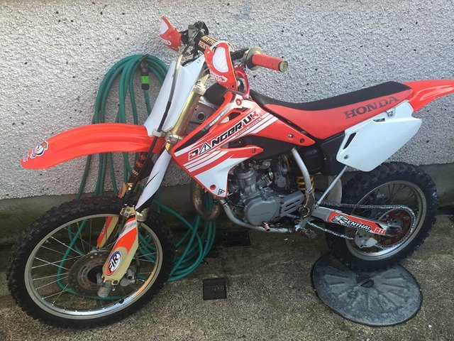 2007 honda cr 85 big wheel - 2/6