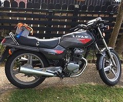 Bike is running the best just needs exhaust sorted have a spare one here other than that it's a grea