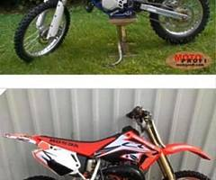 Any one selling a nice Cr 85 or Yz 85