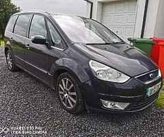 Ford Galaxy 2.0 diesel Just pass Nct