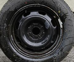 New 195/65/15 tyre and rim