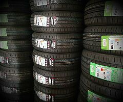 NEW TYRES FOR SALE. MOBILE TYRE FITTING BESIDE YOUR HOME/WORK