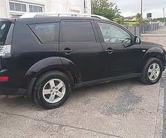 08 Mitsubishi Outlander commercial  taxed and tested