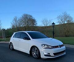 Kitted mk7 golf