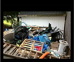 Skip runs garage clear outs shed and fence removels