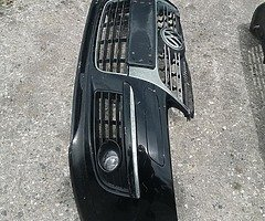 Mk5/Jetta front bumper with larger front splitter