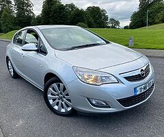 2011 opel astra 1.7L CDTI 110bhp 6 speed manual  Very clean inside and outside ...