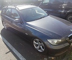 BMW 320d breaking all parts