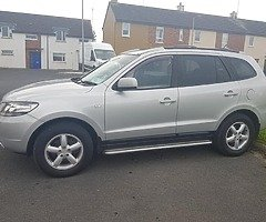 Hyundai SantaFe crdi 4wd  In perfect clean condition