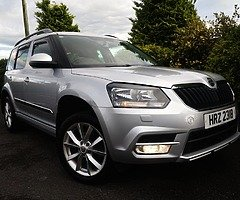 2014 NEW MODEL SKODA YETI 2.0 TDI CR SE