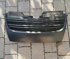 Brand New Mk5 Jetta Front badge less grill