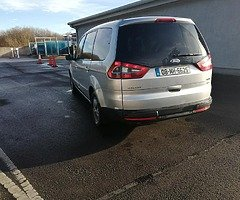 I am selling or exchanging ford galaxy 7 seats 1.8 diesel without any problem, it leads perfectly fo