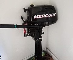 6hp Mercury four stroke