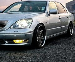 Lexus Ls430 with LPG