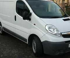 2010 vauxhall vivaro for breaking