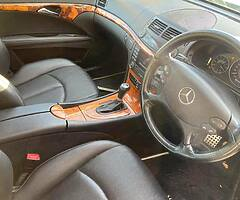 2007 Mercedes E200 Elegance Sport .Low miles .Full service history!!!