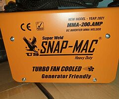New US snap mac 200amp inverter welders  Free Delivery
