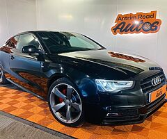 2013 AUDI A5 S-LINE BLACK EDITION 2.0 TDI AUTO ** BUY FROM HOME TODAY ALSO GET FREE DELIVERY