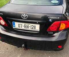 Toyota Corolla 1.4d one owner New NCT Fully serviced, low milage - Image 1/3