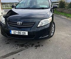 Toyota Corolla 1.4d one owner New NCT Fully serviced, low milage