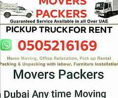 I have a pickup truck for rent dubai any place