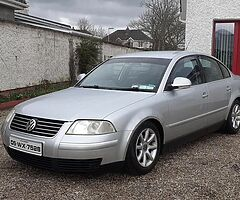 Vw passat 2005 nct/taxed