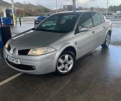 Selling my Renault magane 1.4 petrol just passed nct today until 30th march 2022