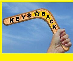 LOST  KEYS  BACK