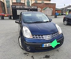 Nissan note, NCT until 12/21, Tax 7/21