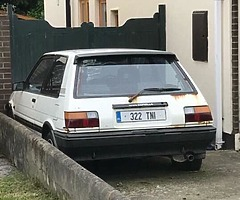 Doing research on this particular model of car the Toyota Corolla GT Hatchback AE82 model had the 1.