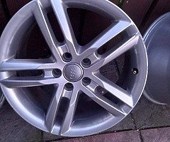 18 rs6 alloys  5x112 8j all no tyres  cheap set no crack  ör weld ' etc   and best offer  take - Image 3/10