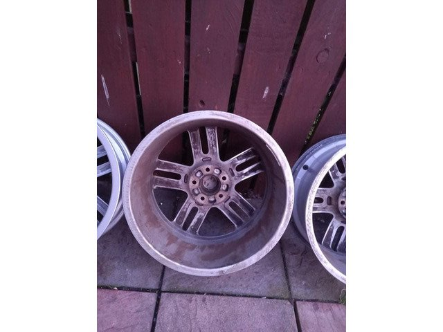 18 rs6 alloys  5x112 8j all no tyres  cheap set no crack  ör weld ' etc   and best offer  take - 7/10